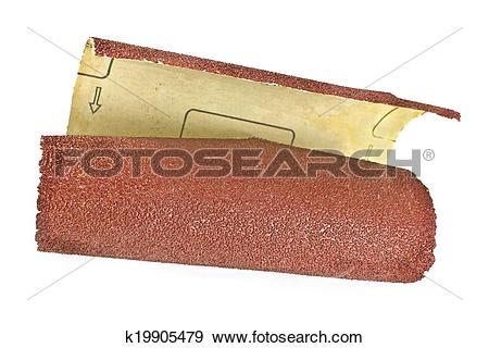 Stock Photograph of Emery paper.