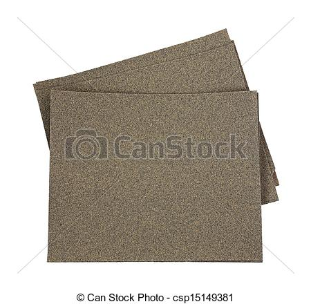Stock Photo of Sand Paper 30 Grit.
