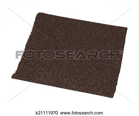 Stock Photography of Emery paper.