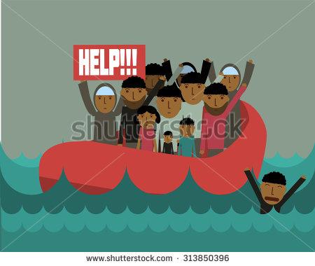 Refugee Clipart.