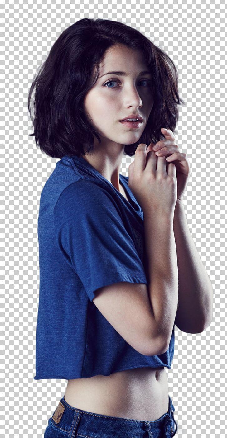 Emily Rudd PNG, Clipart, 1080p, Beauty, Black Hair, Blue.