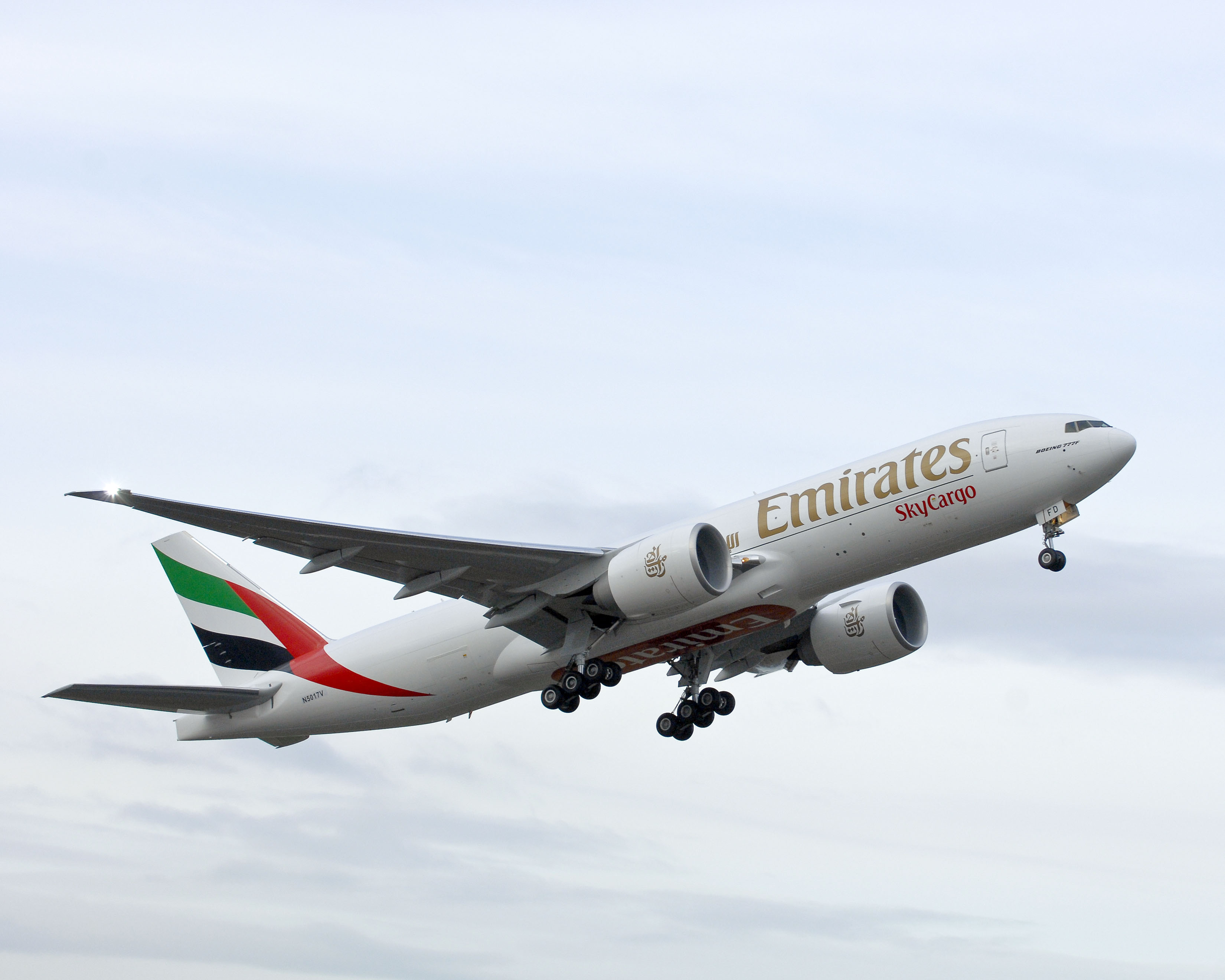 Strong cargo growth at Emirates.