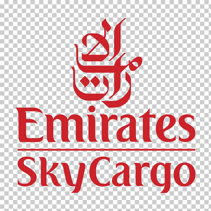 Logo Emirates SkyCargo Airline graphics, psg PNG clipart.