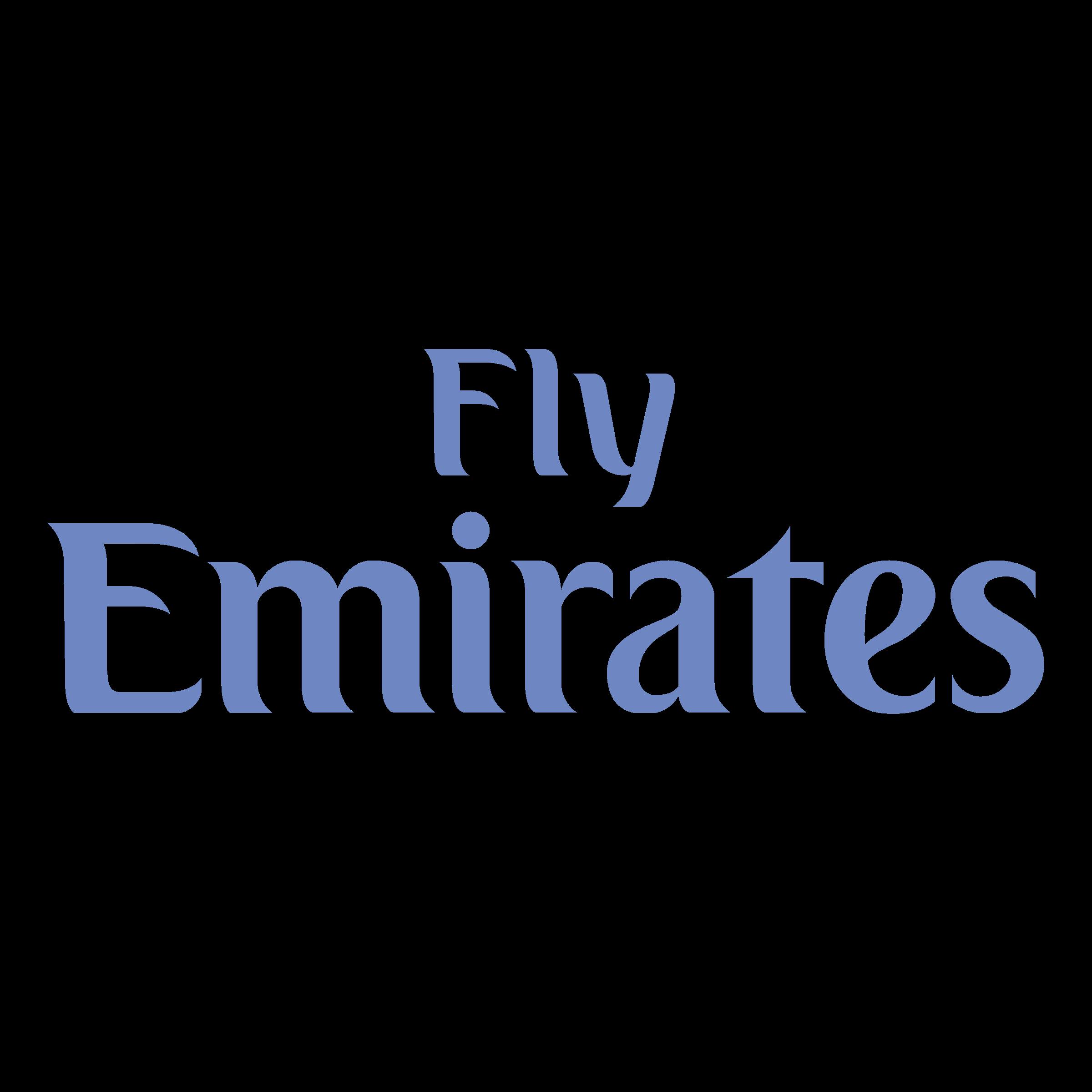 Fly Emirates Logo PNG Transparent & SVG Vector.
