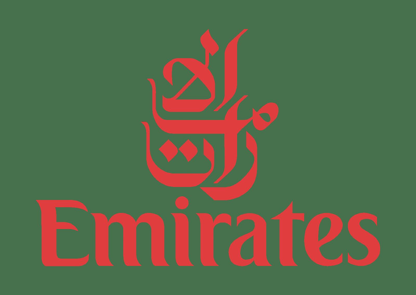 Emirates Logo transparent PNG.