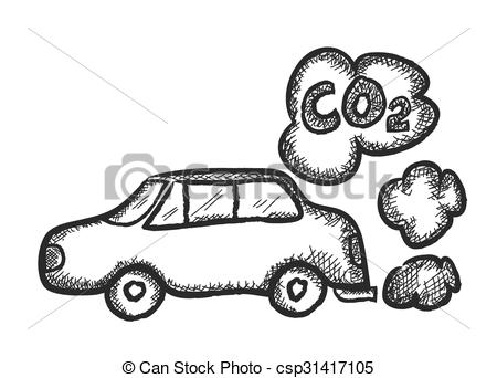 Car exhaust emissions Vector Clipart EPS Images. 100 Car exhaust.