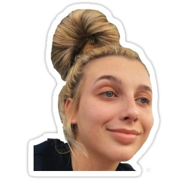 Emma Chamberlain' Sticker by KatFair.