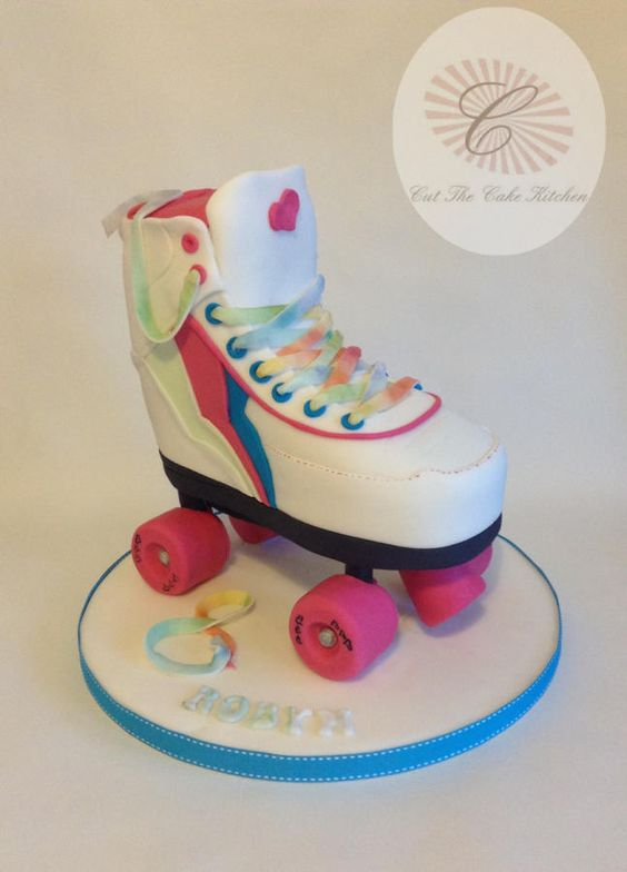 3D Roller Skate.