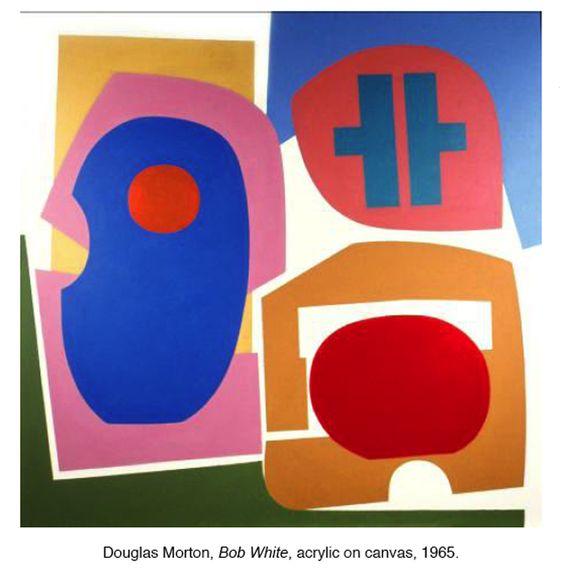 Bob White,' 1965, Douglas Morton, acrylic on canvas, approximately.