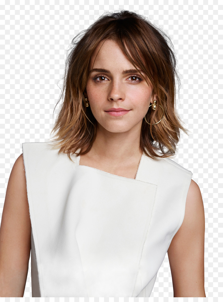 Emma Watson Hair png download.