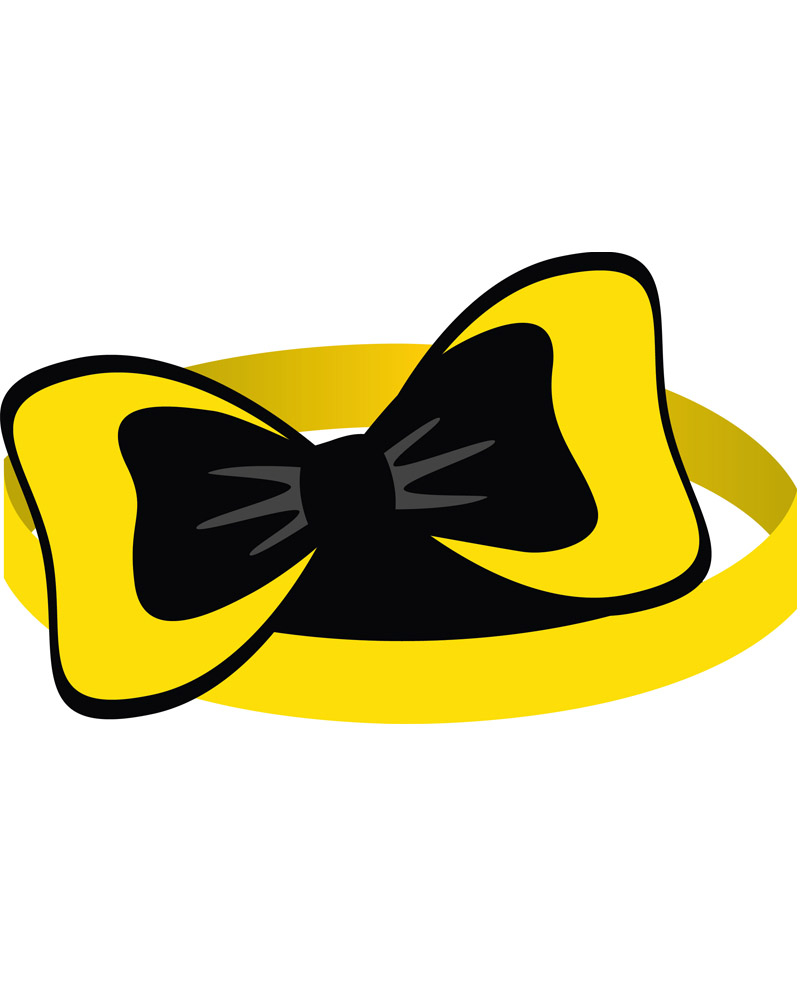 The Wiggles Emma Paper Headbands Pack of 8.