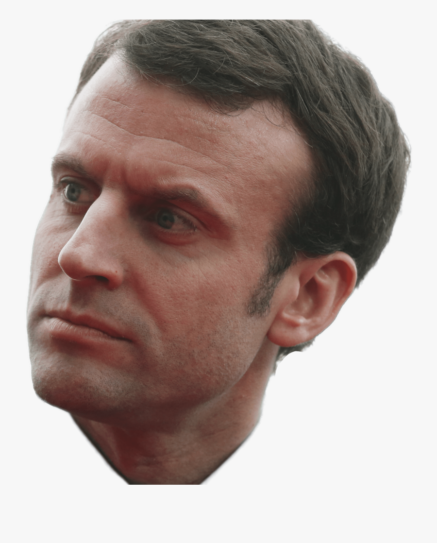 Emmanuel Macron Side View Transparent Png.