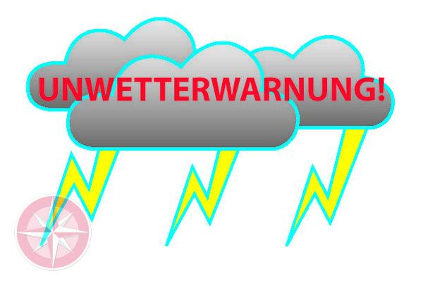 Unwetterwarnung: Voerde sagt Sommerfest ab.
