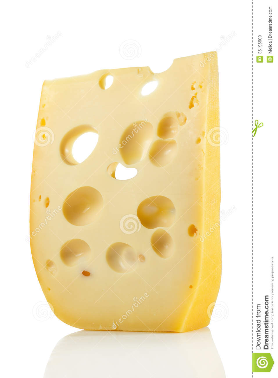 Swiss Cheese Royalty Free Stock Images.