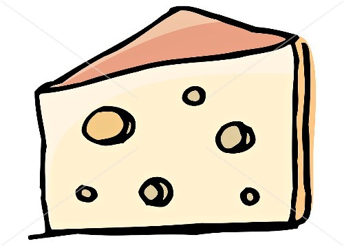 Emmental Cheese (Illustration).