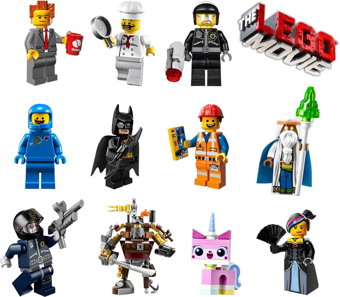 Lego Movie Character Clipart.