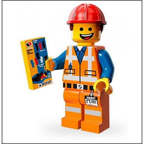 Lego The Movie Lego Minifigures The Lego Movie 03 Emmet #ldDppD.