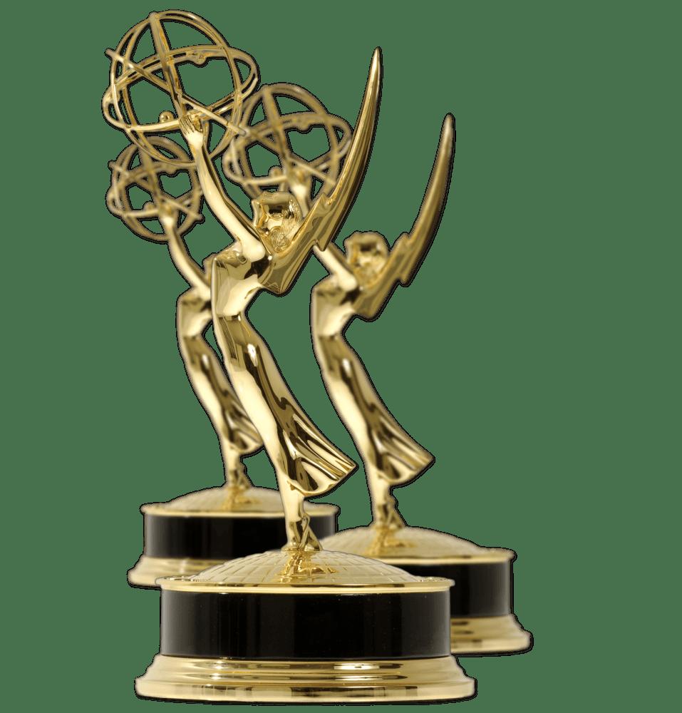 Emmy Awards transparent PNG.