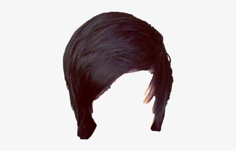 Emo Hair PNG Photo.