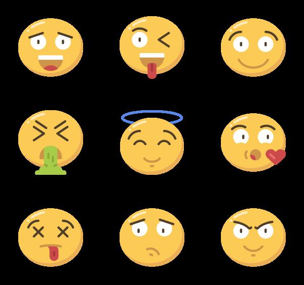 201 emoji icon packs.