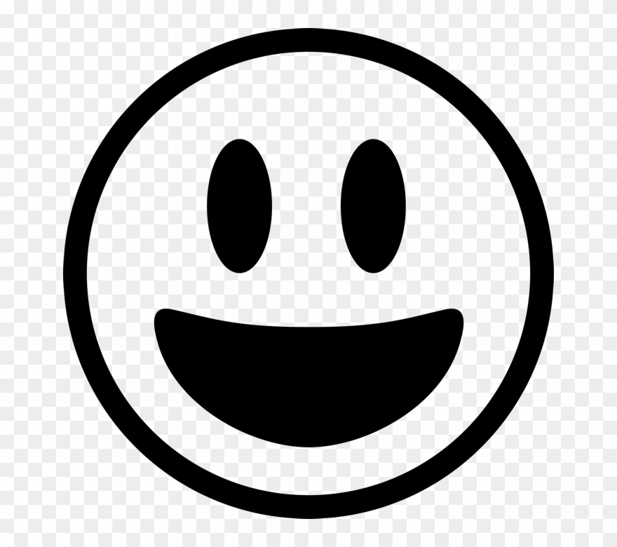 Banner Download Black And White Emoji Clipart.