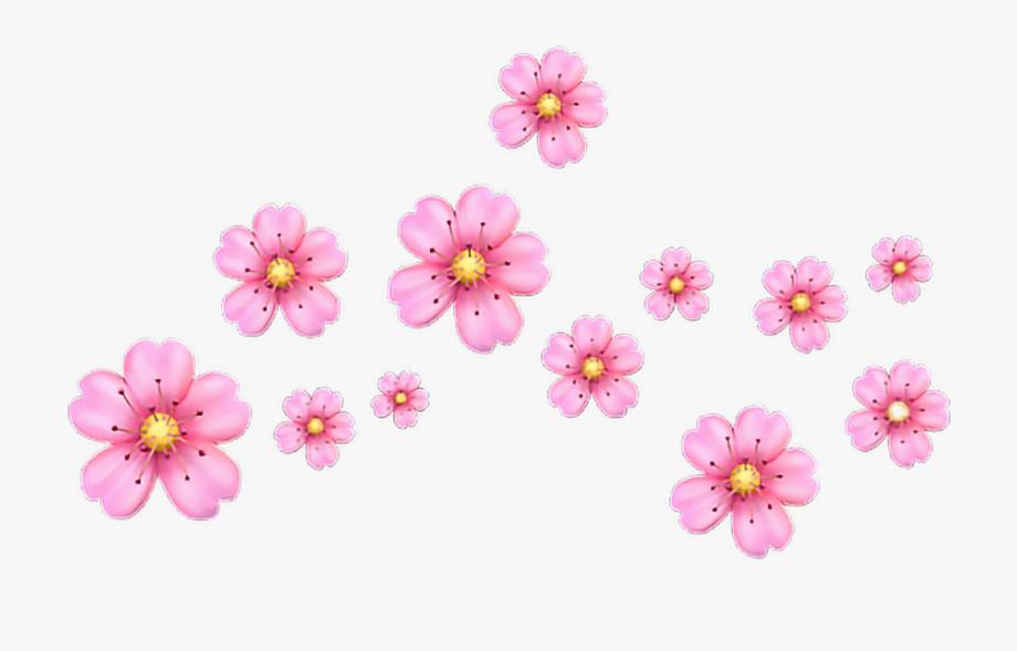 Pink Flower Clipart Emoji.
