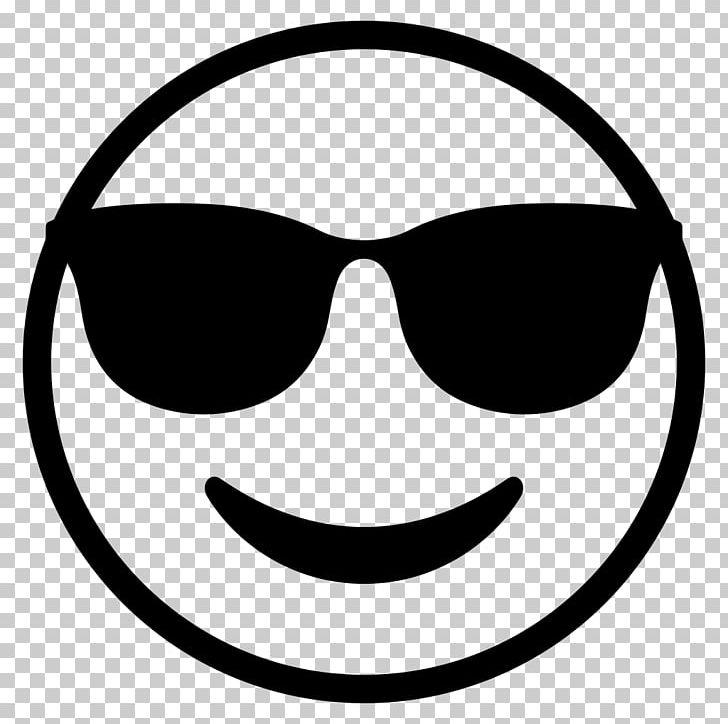 Emoji Sunglasses Smiley Emoticon PNG, Clipart, Black, Black.