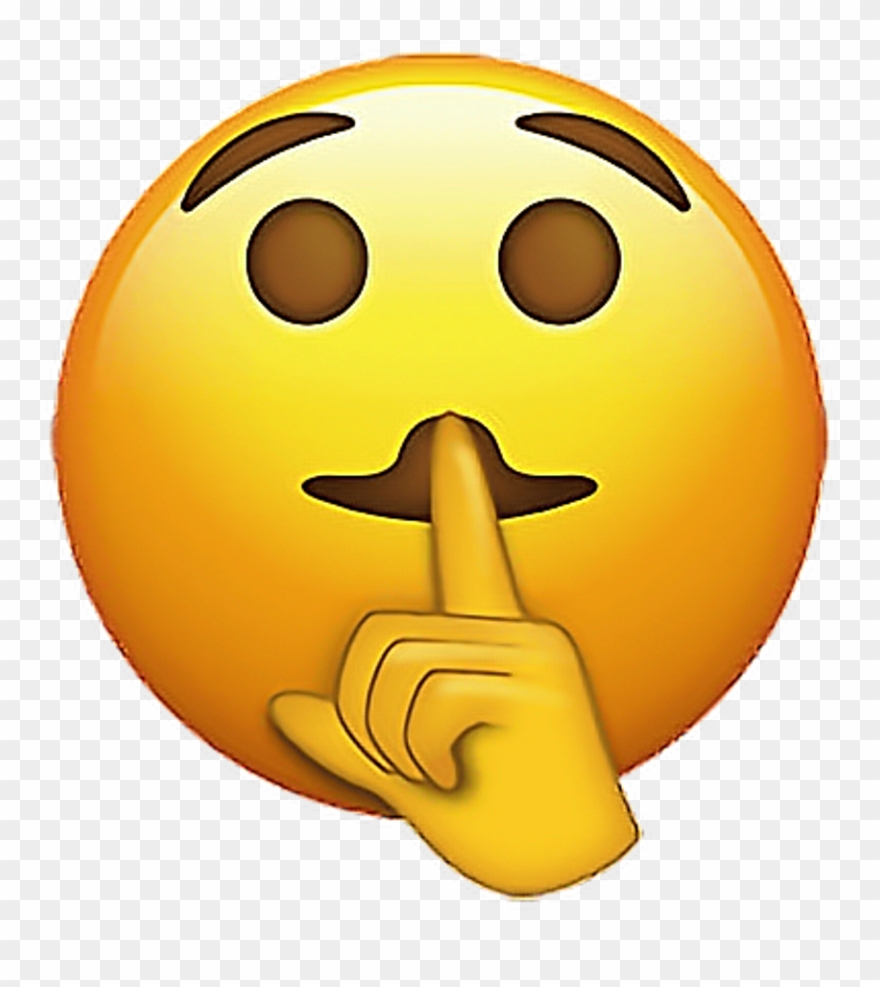 Emoji Emojis Emojisticker Shh Shhemoji Sticker Stickers.