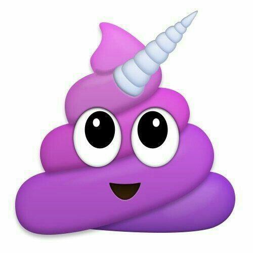 Emoji de popo #popo unicornio # kiut on We Heart It.