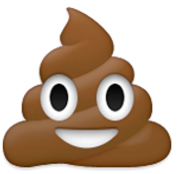 La historia del emoji de la caca sonriente en iPhoneros.