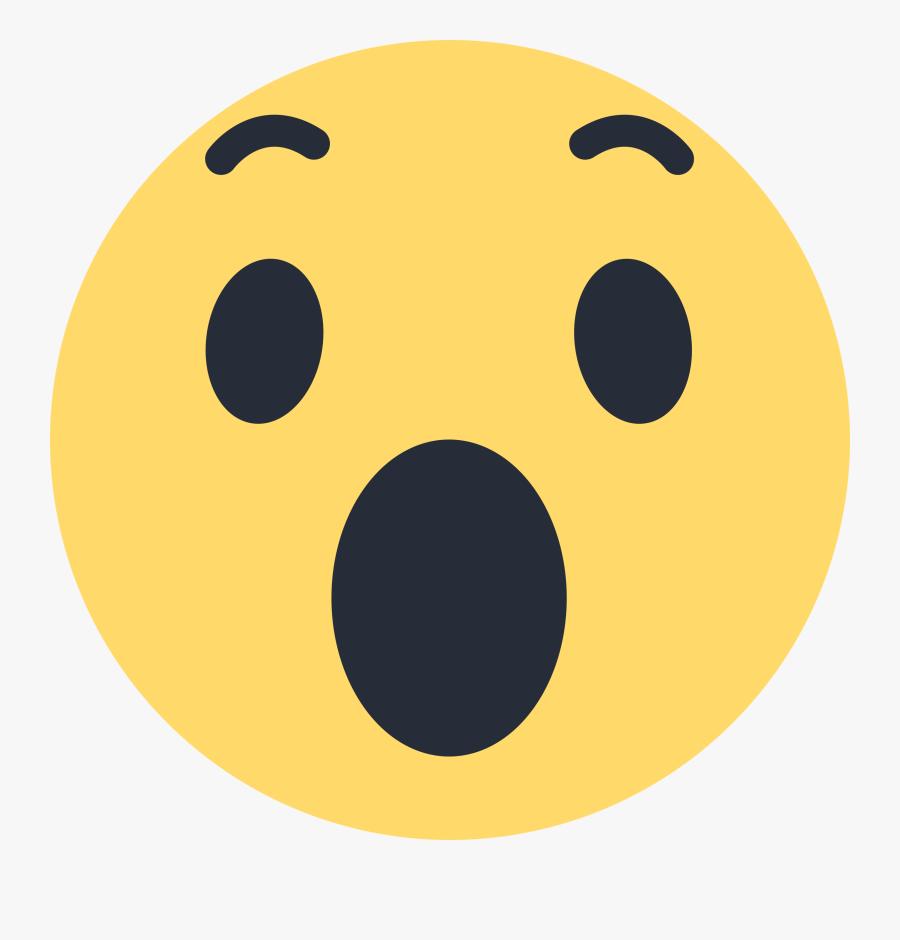 Facebook Wow Emoji Like Png.