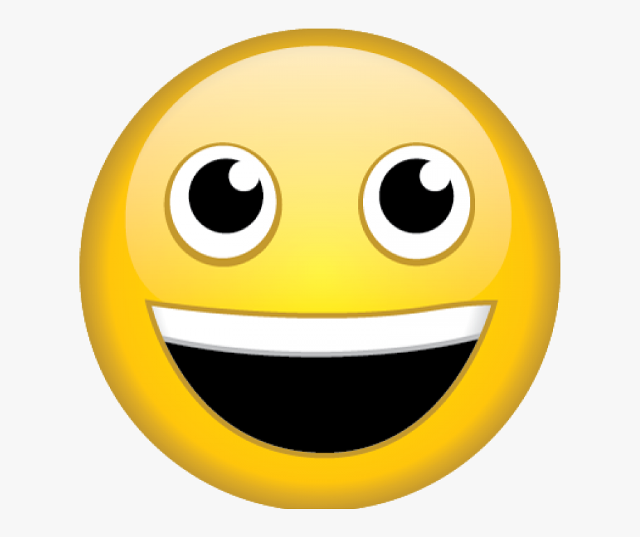 Excited Face Png.