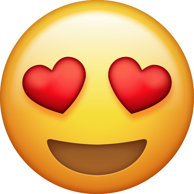 Download Heart Eyes Emoji.