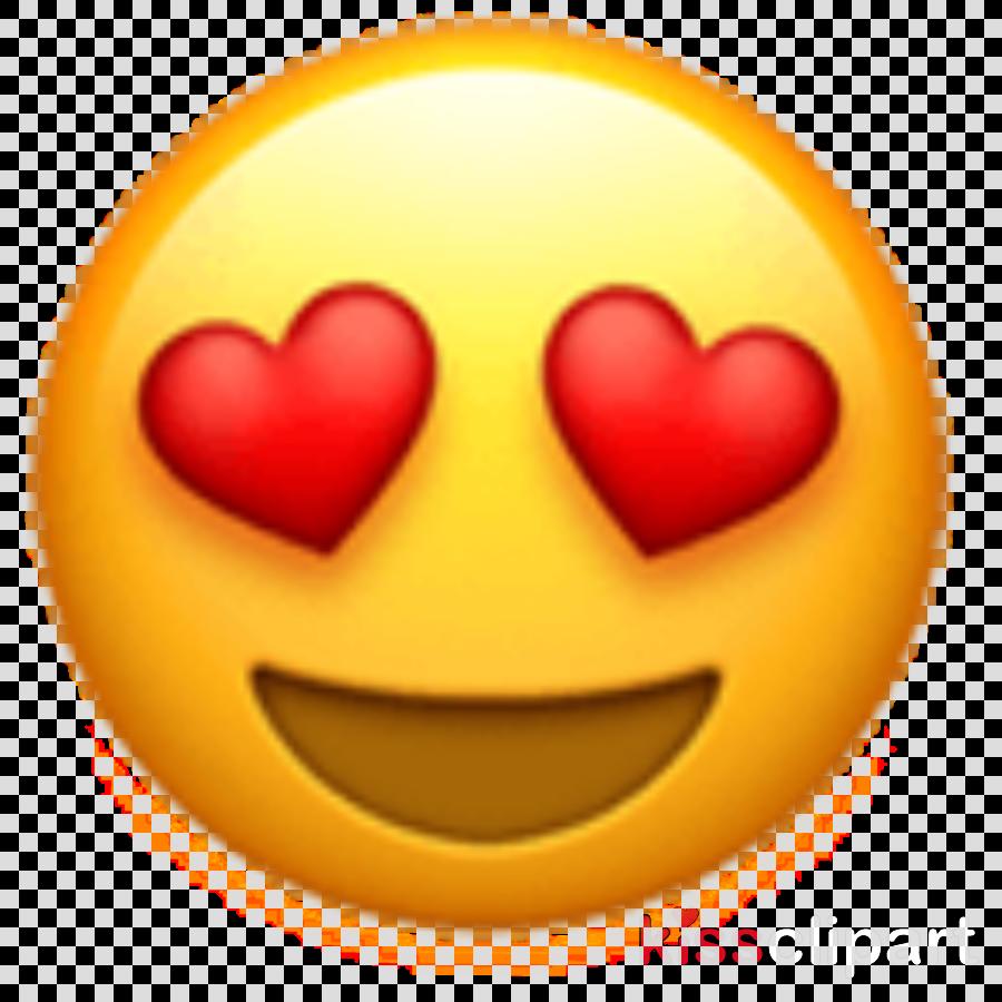 Iphone Emoji Heart clipart.