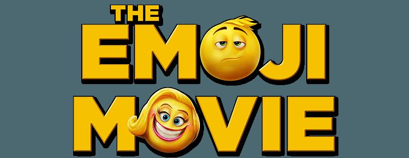 The Emoji Movie Logo.