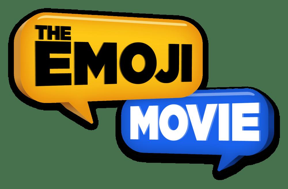 Emoji Movie Logo transparent PNG.