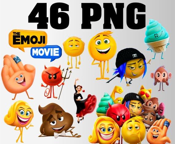 The Emoji movie clipart.