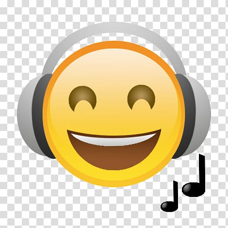Apple earbuds Emoji Headphones Music, Emoji transparent.