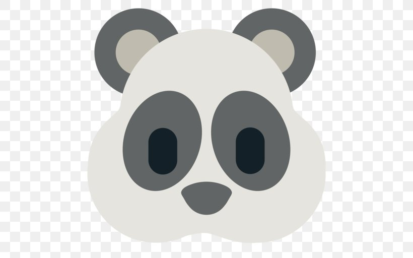 Bear Giant Panda Koala Emoji Clip Art, PNG, 512x512px, Bear.