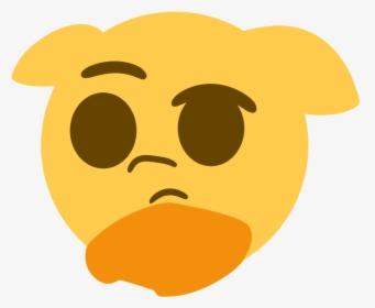 Think Emoji PNG Images, Transparent Think Emoji Image.