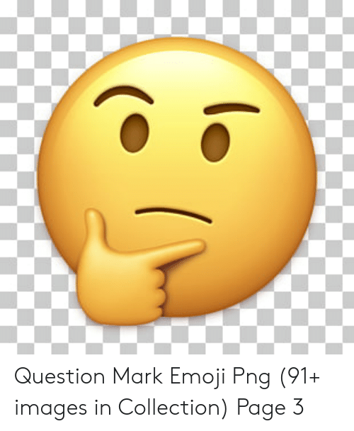 Question Mark Emoji Png 91+ Images in Collection Page 3.