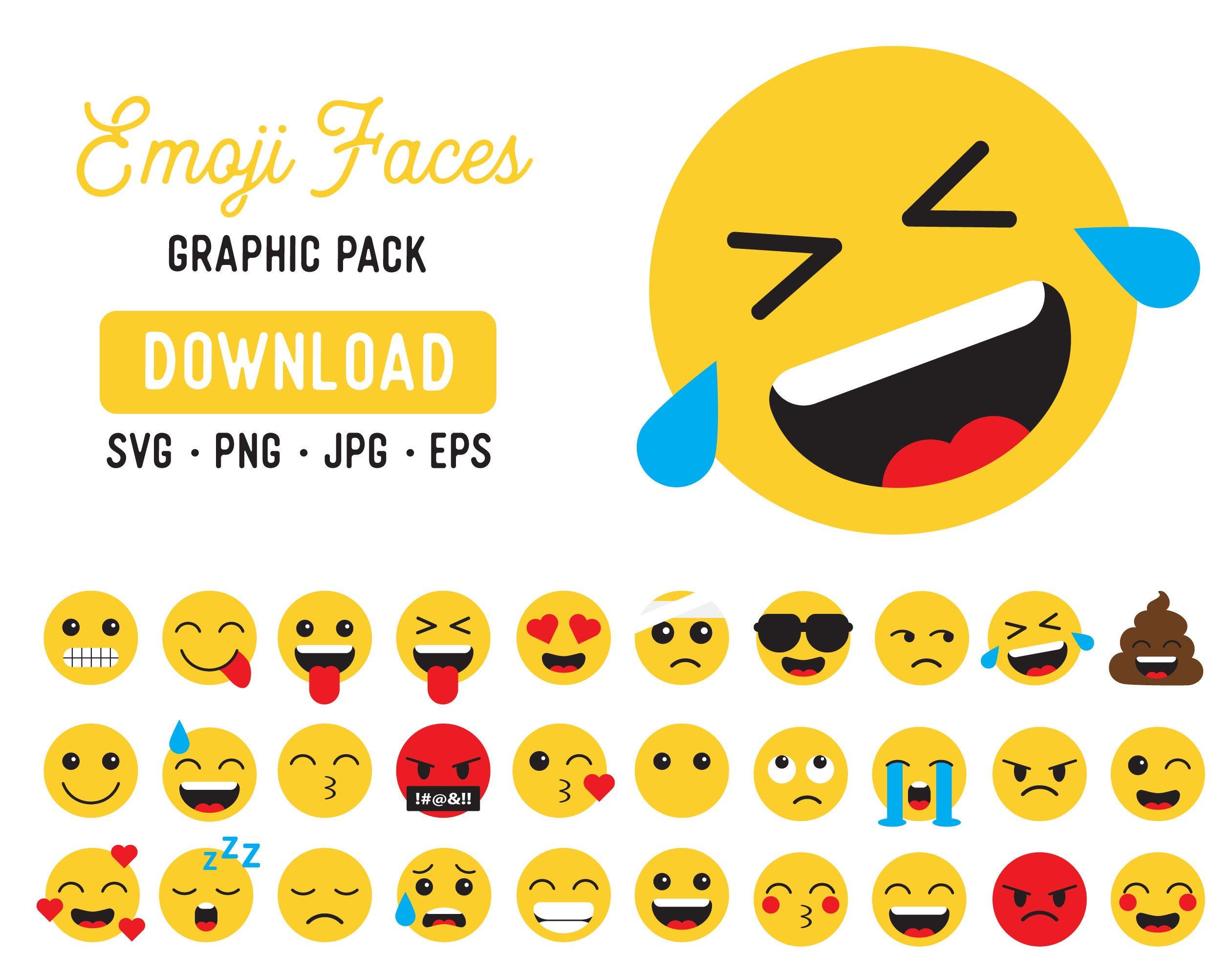 Emoji SVG Mega Bundle.
