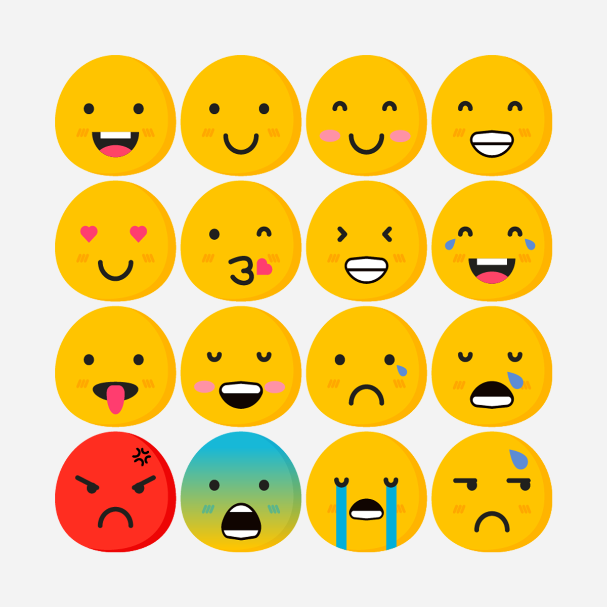 20+ Best Emoji Icons to Show Emotions in Your Design Project.
