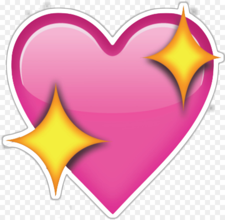 Love Heart Emoji png download.