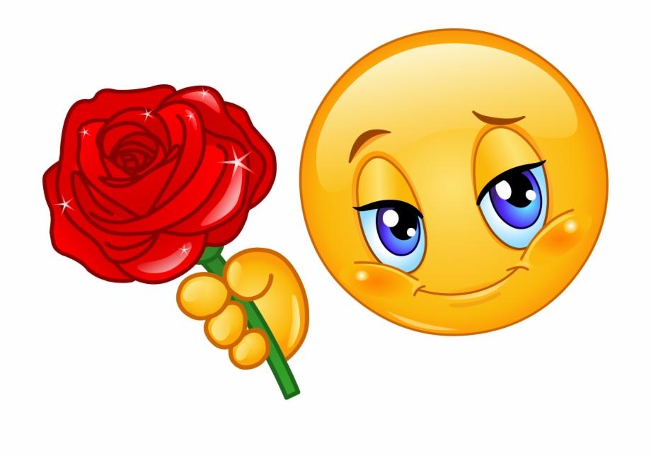 Roses Clipart Emoji.