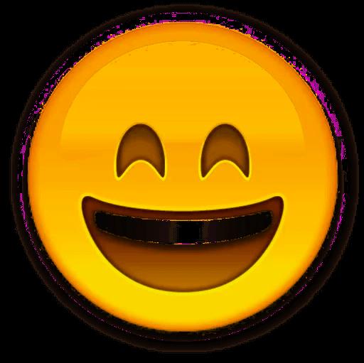 Smiley Face Emoji Eye.