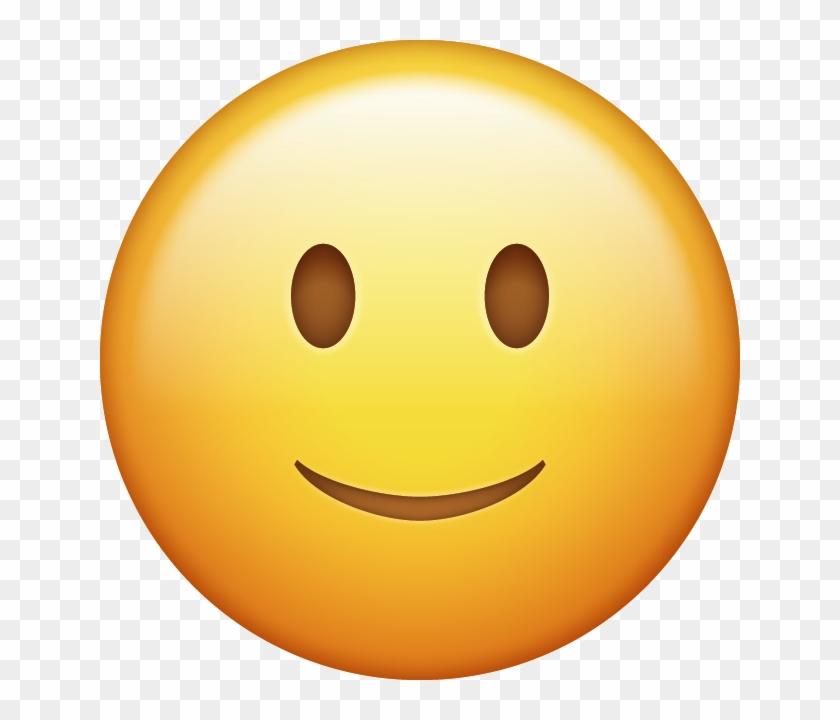 Download Slightly Smiling Emoji Icon Emojis Png, Ios.