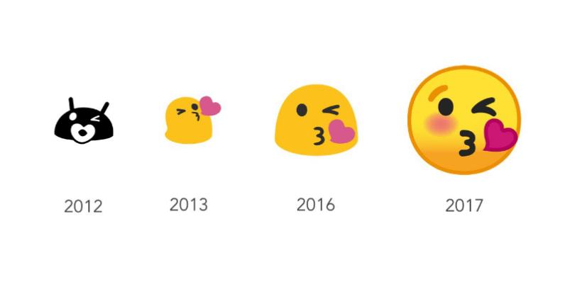 Google drunkenly brings back the blob emoji (as a sticker pack).