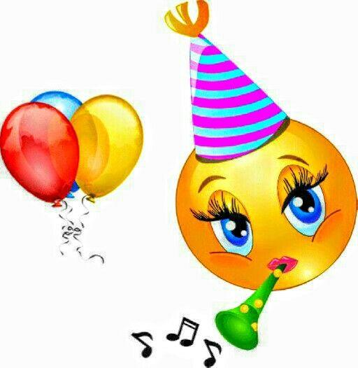 Happy birthday emoji!.