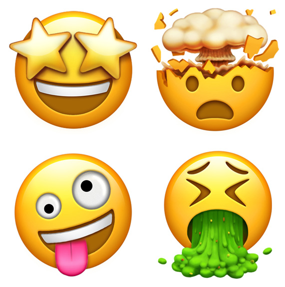 Apple previews new emoji coming later this year.